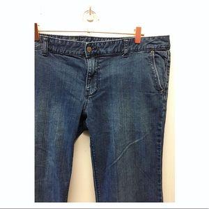 Mossimo |Trouser Fit 3 Jeans EUC Plus Size Jeans